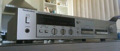 Vintage Technics Stereo Integrated Amplifier/Phono/Cd/Aux/Made In Japan