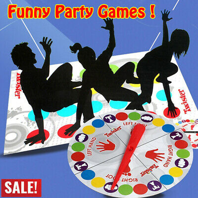 Classic Twist Funny Family Moves Board Game Children Friend Body Party Games NEW
