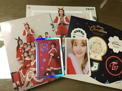 Twice 3rd Mini Album Christmas Edition Twicecoaster Lane1 JIHYO Photocard Set