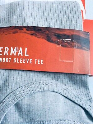 Brand new pack of 2 boys thermal short sleeve t-shirts, age 11-12 years