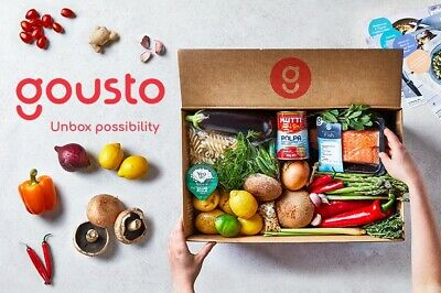 GOUSTO DISCOUNT CODE VOUCHER PROMO 60% OFF 1st BOX 30% OFF FOR A WHOLE MONTH