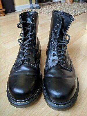 Doc Martens 1460, size 10 UK, worn twice. Black, Air Ware, original Dr Martens