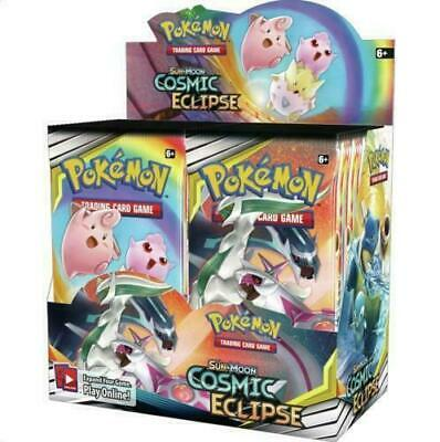 Pokemon Tcg Sm Cosmic Eclipse  Booster Factory Sealed Box - English - 36 Packs