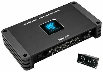 Hifonics M8-DSP - 8-Kanal Digitaler Sound Prozessor 32 bit 192 kHz Auto-Turn On