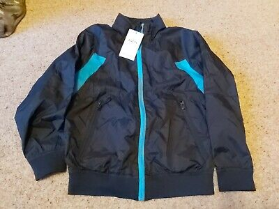 Bnwt Marks And Spencer Lightweight Boys Coat/jacket Size 9-10