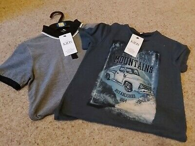 Bnwt Marks and Spencer Boys T Shirts 7-8