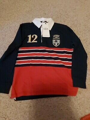 Bnwt marks And Spencer Boys Rugby Top Age 9-10