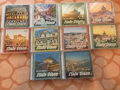 Lot CD's Italo Disco - The Lost Legends (vol. 11-20) limited edition only 100