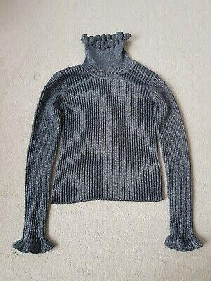 Girls Next Frill Edge Roll Neck age 9 years immaculate condition