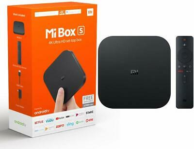 NEW Xiaomi  Mi Box S 4K Ultra HD Android TV -Voice Remote- Chromecast Built-in