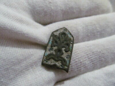 Ancient decorative cover in enamel Vikings, Kievan Rus 13-15 AD №656/2
