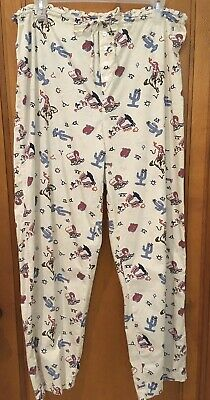 Xhilaration Western PJ Pajama Pants Cotton Sz M