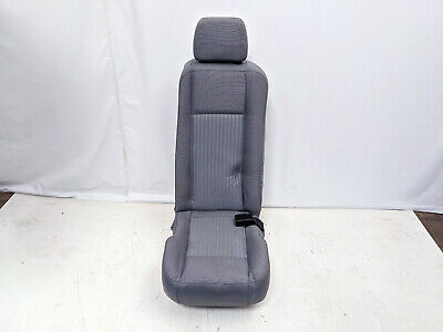 FORD TRANSIT SINGLE 1 PERSON REAR SEAT GREY or BLACK CLOTH 2015-2019