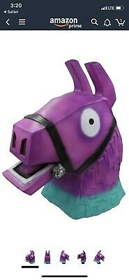 Purple Rainbow Horse Head Mask Deluxe Latex Full Head Coplay Accessory