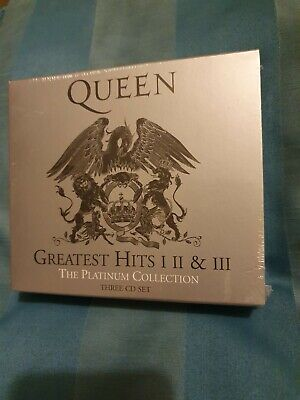 QUEEN THE PLATINUM COLLECTION 3 CD SET GREATEST HITS 1, 2 & 3. Brand New, unopen