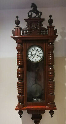 Four wall clocks for repair or parts