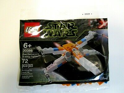 LEGO 30386 Star Wars Poe Dameron/'s X-Wing Fighter Polybag 72pcs New
