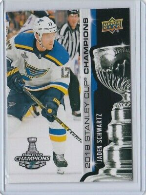 2019 Upper Deck Stanley Cup Champions St.louis Blues All New