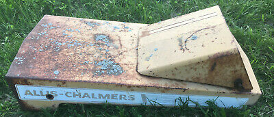 Allis Chalmers Garden Tractor B-110 Hood vintage grill cover grille