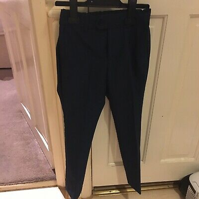 Next Boys Navy Blue Trousers 8 Years Worn For Wedding
