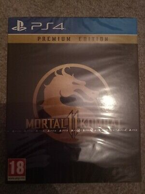 Mortal Kombat 11 Premium Edition - Playstation 4 - Brand new sealed