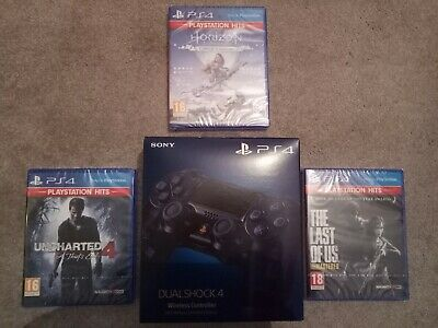 Sony PS4 DualShock 4 500M Limited Edition Controller plus 3 games - New sealed