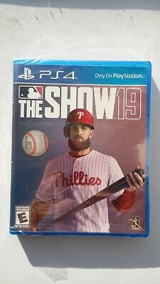 New/Sealed PS4 MLB The Show 19 baseball game