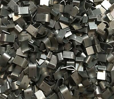 5 Lb. Zinc Plated J Clips. Cage Clips for Rabbit, Poultry, Game Bird Cages.