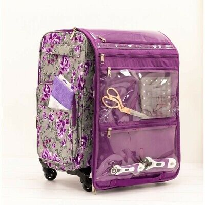 Crafter's Companion Trolley Suitcase Wheeled Storage for Stitch Sewing Machine