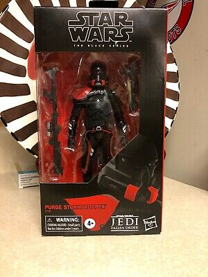 "Star Wars Black Series 6"" Purge Stormtrooper Gamestop Exclusive New"