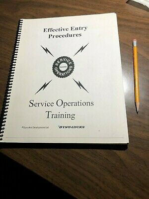 Training Guide Automobile LOCKSMITH Car Entry Procedures  All Cars! 158 pages