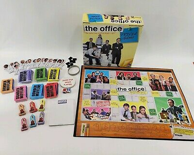 The Office Trivia Game Dundler Mifflin Pressman Board Game With Wristband
