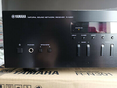 YAMAHA R-N301 - Network Stereo Receiver streaming Spotify AirPlay 100 watts