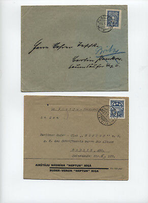 Three 1930s and 1940s Latvia and Lithuania covers [L.243]