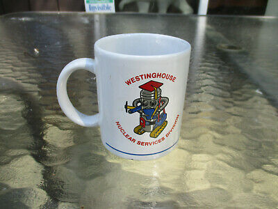 VTG Westinghouse Electric Nuclear Services Division NSD Ceramic Coffee Mug Cup