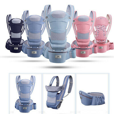 Newborn Infant Baby Carrier Hip Seat Ergonomic Adjustable Wrap Sling Backpack