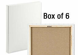 "Centurion LX Linen Canvas 3/4"" Box of Six 20x24"""
