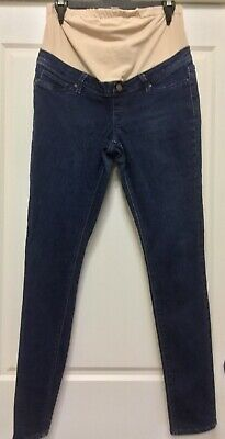 Jeanswest: Blue denim Maternity Skinny low rise full length jeans Size 10
