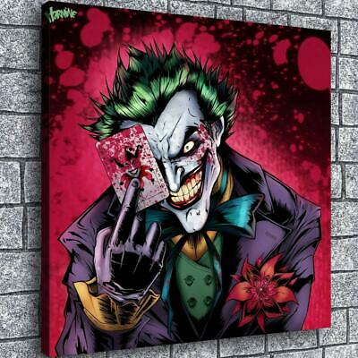 Joker Jack HD Canvas prints Painting Home decor Picture room Wall art Poster