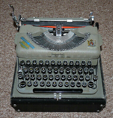 The Good Companion Imperial Vintage Typewriter Portable In Case *Very Rare*