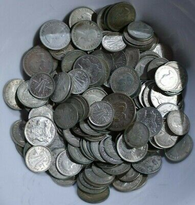 427g AUSTRALIAN SILVER COINS MAINLY SIXPENCE AND THREEPENCE 0.500 FINE 1946-1963