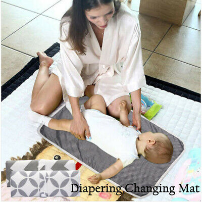 Urine Mats Multicolor Nappy Urine Pads Cotton Diaper Changing Mat Waterproof