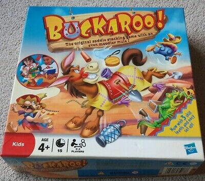 Buckaroo Game By Mb Games 2010 - Excellent Condition 100% Complete