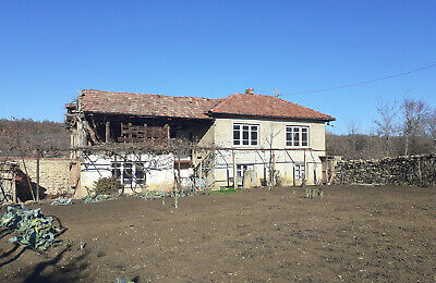 Near Lake VT - Bulgaria house property with land and outbuilding - Pay Monthly