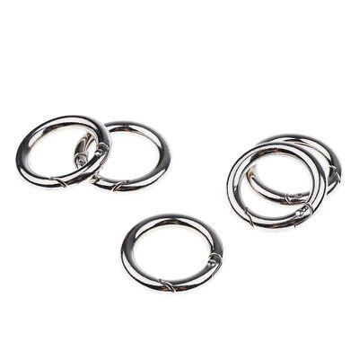 5 Pack Key Rings Premium Split Ring Spring Ring Ring Connector Keychain 25mm