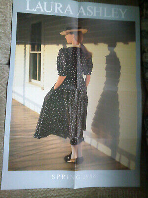 Laura Ashley Spring 1986 poster