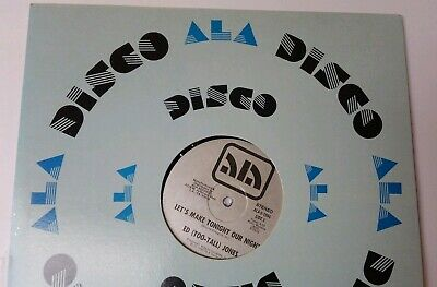 Amazing Record Ed Too Tall Jones Dallas Cowboys Disco Funk Boogie 1982 RARE