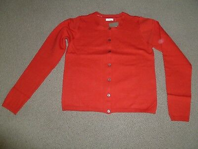 Brand New With Tags Girls Next Red Cardigan - Age 11 Years