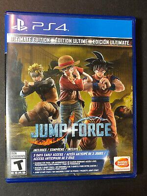 Jump Force [ Ultimate Edition ] (PS4) USED