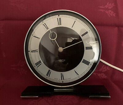 Art Deco Smiths Sectric Bakelite & Chrome Electric Clock
